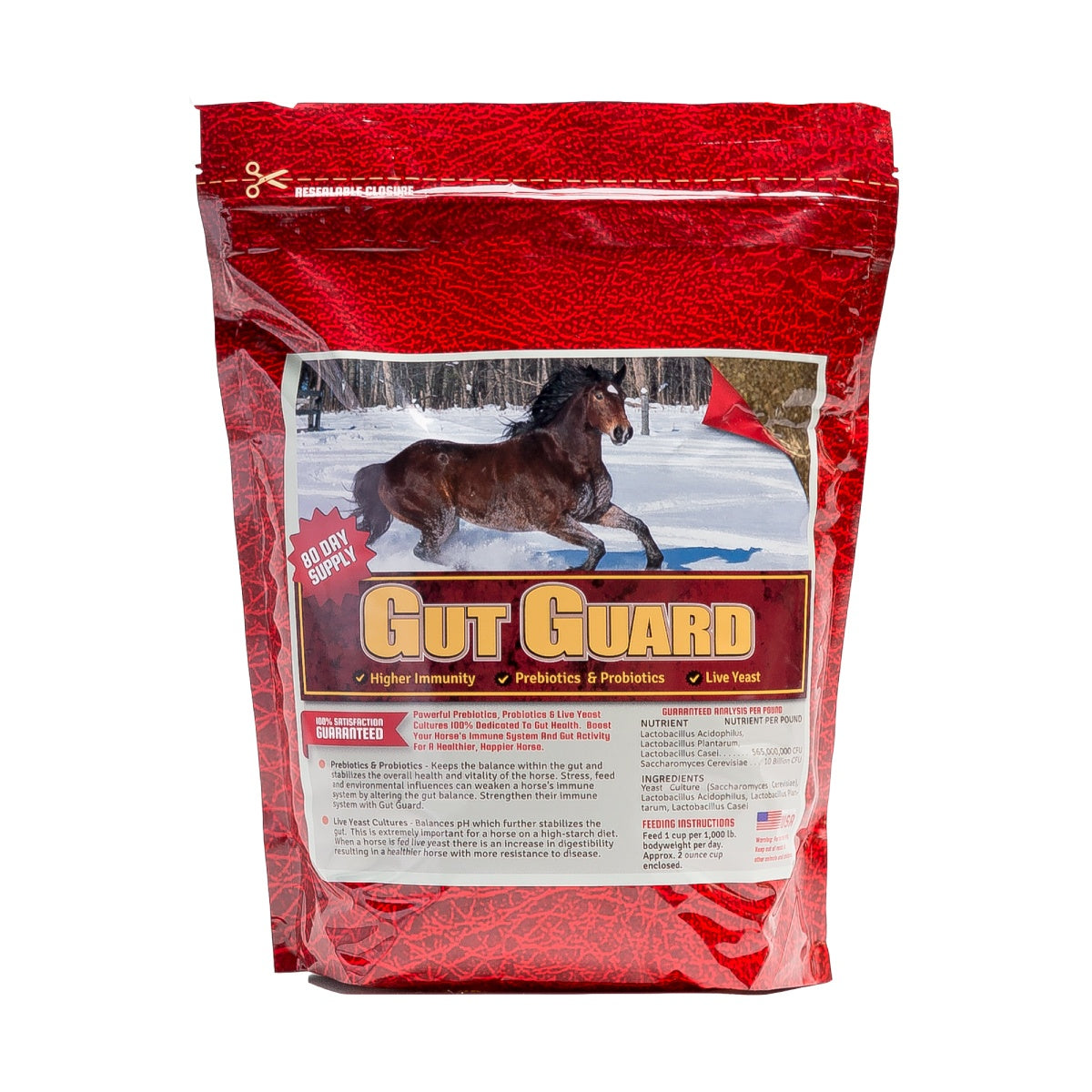 Gut Guard 10lb Front Supplement by Horse Guard
