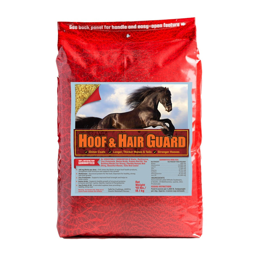 Hoof Hair Guard 40lb Front Supplement by Horse Guard