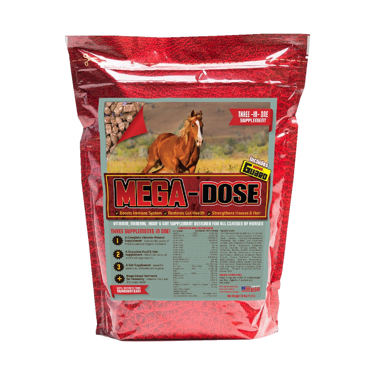 Mega Dose 10lb Front Supplement by Horse Guard