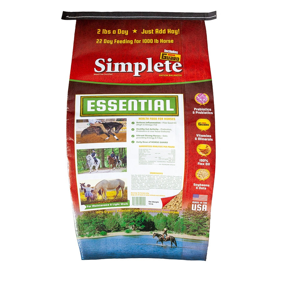 Simplete Essential 44lb Front Complete Supplement by Horse Guard