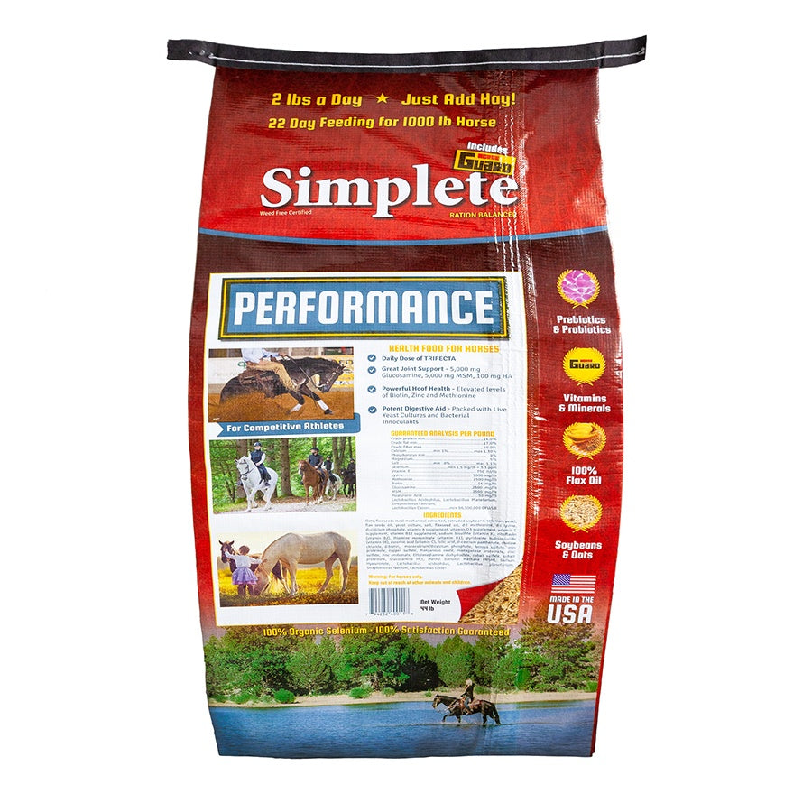 Simplete High Performance 44lb Front Complete Supplement by Horse Guard