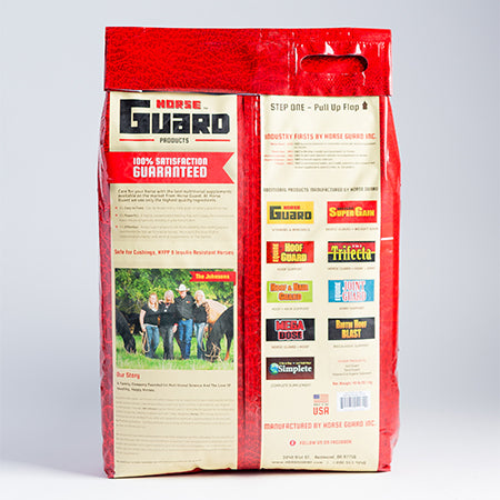 Super Weight Gain 40lb Back Supplement by Horse Guard