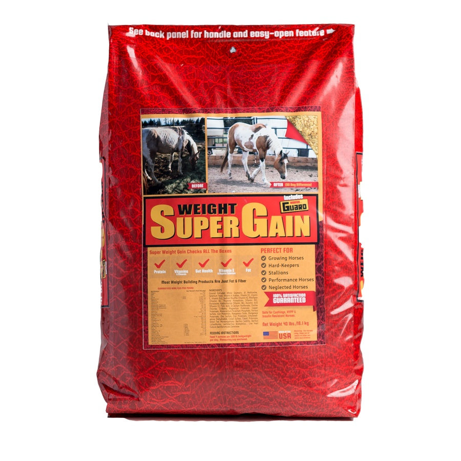 Super Weight Gain 40lb Front Supplement by Horse Guard