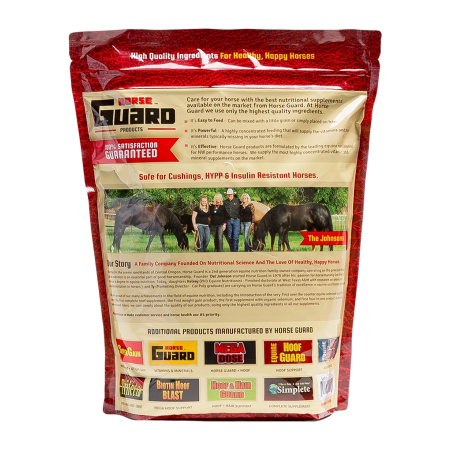 Equine Hoof Guard 10lb Back Supplement by Horse Guard