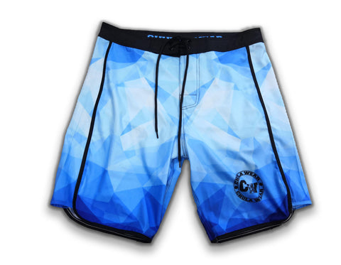 """ICEBERGS"" Board Shorts"