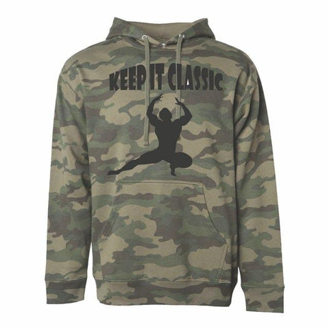 """KEEP IT CLASSIC"" Camouflage Hoodie"