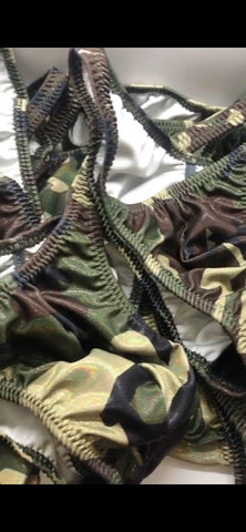 """Camouflage"" Bodybuilding Trunks"