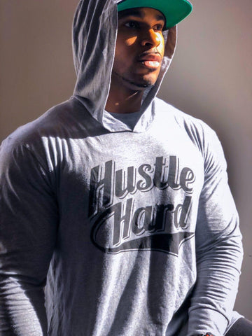 """Hustle Hard"" Chula Wear Lightweight Hoodie"