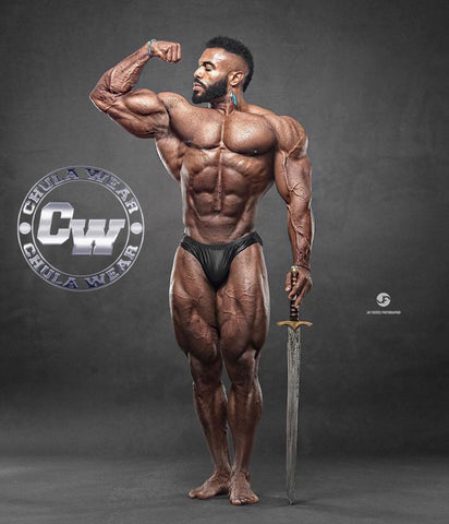 """THE BLACK PANTHER""  Classic Physique Briefs"
