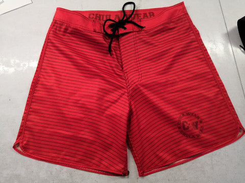 """Candy Apple, Red"" Board Shorts"