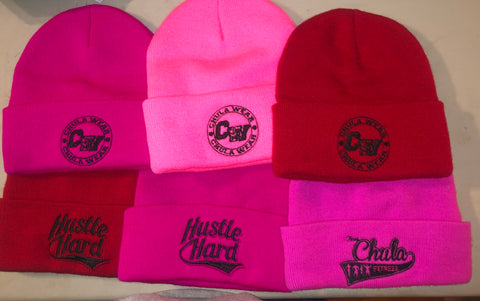 Chula Wear/Hustle Hard Beanie
