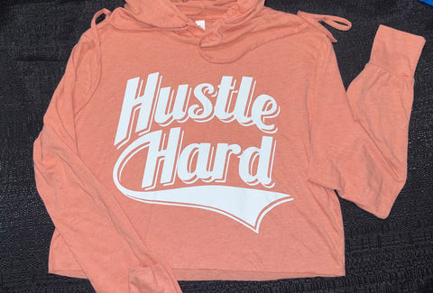 Light weight Hustle Hard crop top!