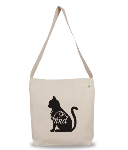 Animals Eat Eco Bag: Cat Eats Bird