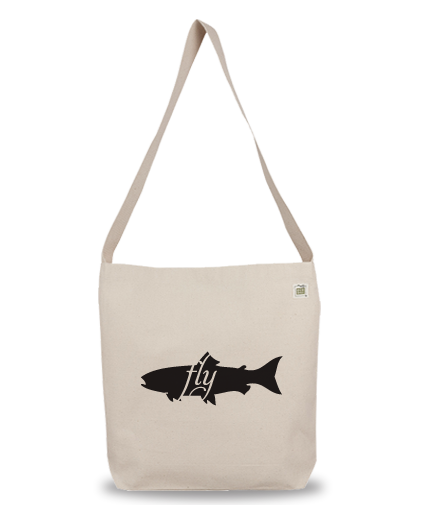 Animals Eat Eco Bag: Fish Eats Fly