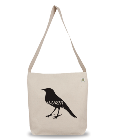 Animals Eat Eco Bag: Bird Eats Worm
