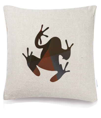 Silhouette - Frog Cushion Cover