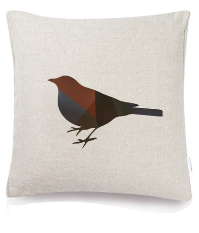 Silhouette - Sparrow Cushion Cover