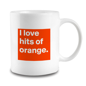 Hits of Orange Mug