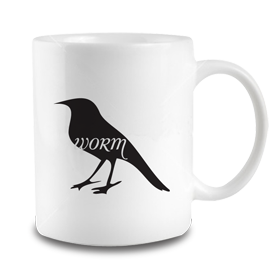 Animals Eat Mug: Bird Eats Worm
