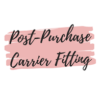 Cloth & Carry-30 Minute FREE Order Pickup and Carrier Fitting - Cloth & Carry