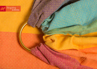 Gold Rainbow Ring Sling