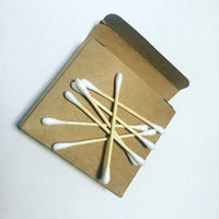 Effortless Eco-Bamboo Cotton Buds (100pk) - Cloth & Carry