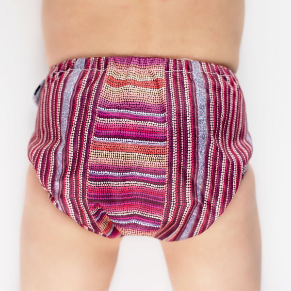 Designer Bums-Designer Bums Swim Nappy - Cloth & Carry