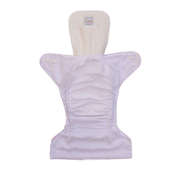 Evia Nappies-Evia Bamboo Booster - Cloth & Carry