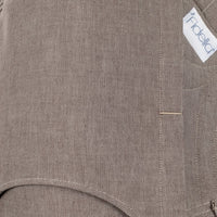 Close Up of Fidella FlyClick Plus Half Buckle Toddler Carrier in Walnut Chevron - Cloth & Carry, Australia