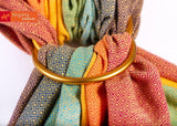 Girasol-Gold Rainbow Ring Sling - Cloth & Carry