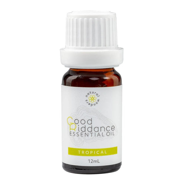 Natural Wonders-Good Riddance Tropical Essential Oil 12mL - Cloth & Carry