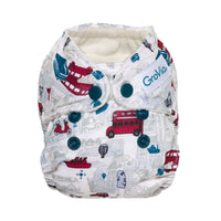 Grovia-Grovia AIO Newborn Nappy - Cloth & Carry
