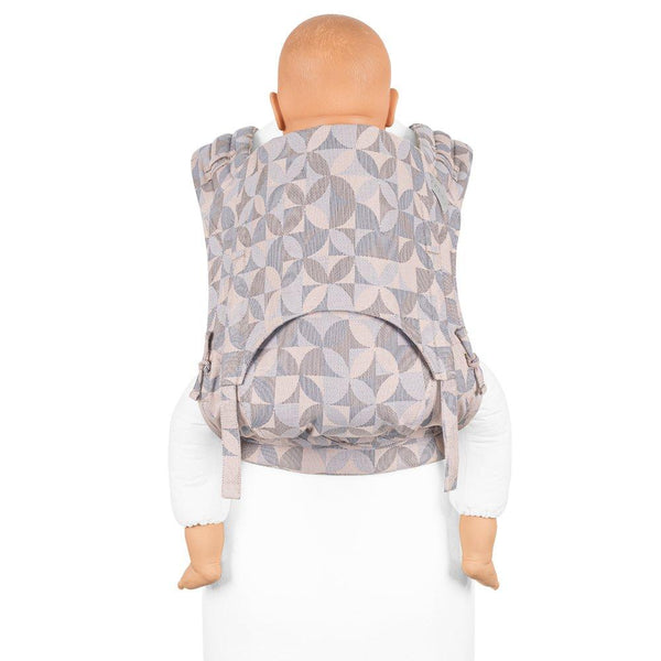 Fidella-Kaleidoscope FlyClick Plus Half Buckle Toddler Carrier - Cloth & Carry