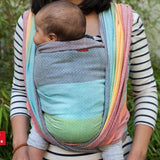 Girasol-Light Rainbow Woven Wrap - Cloth & Carry