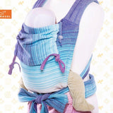 Girasol-MySol Candy Clouds - Half Buckle Carrier - Cloth & Carry