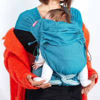 Neko Slings-NekoTai Baby - Ocean Rise - Cloth & Carry