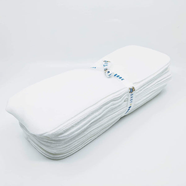 Baby Bare-Reusable Nappy Liners - Cloth & Carry