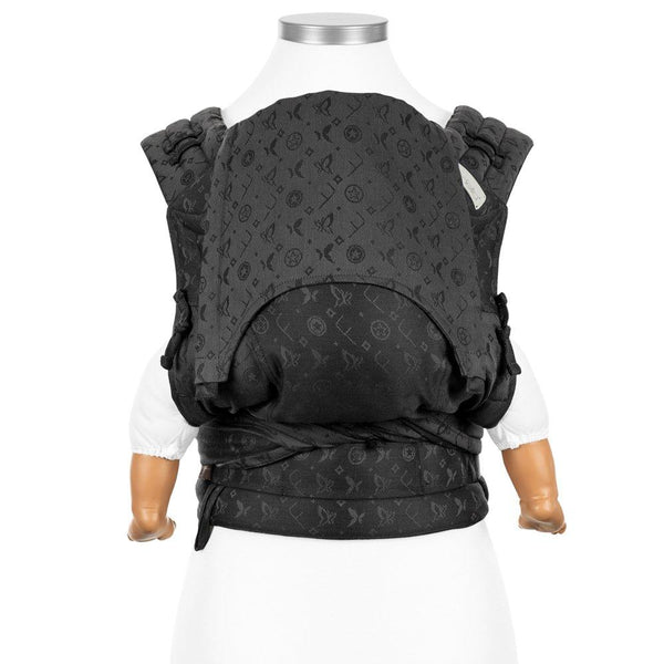 Fidella-Saint Tropez FlyClick Half Buckle Baby Carrier - Cloth & Carry