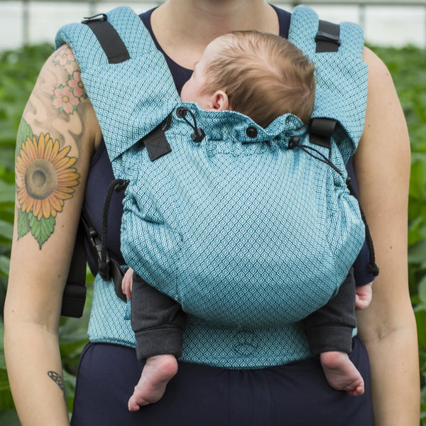 Neko Slings-Switch Baby Carrier - Blue Diamond - Cloth & Carry