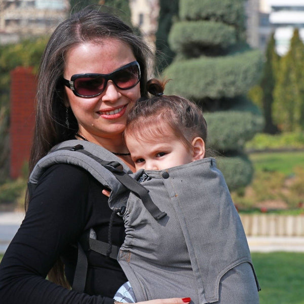 Neko Slings-Switch Toddler Carrier - Bold - Cloth & Carry