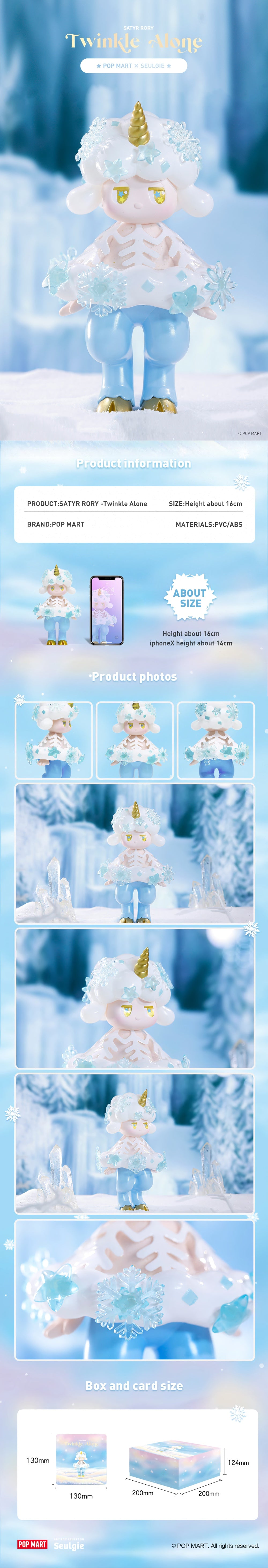 POP MART X Satyr Rory Twinkle Alone Collectible Figurine