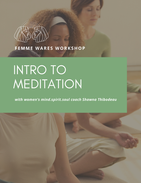 Introduction to Meditation Class