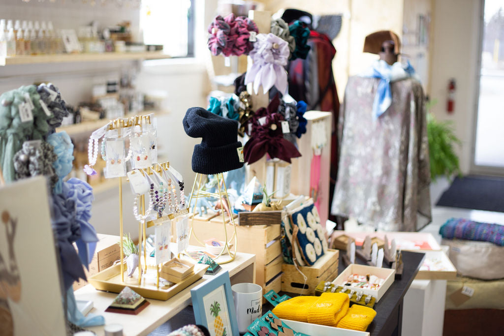 femme wares niagara local gift shop for wellness, small brands and female founded businesses
