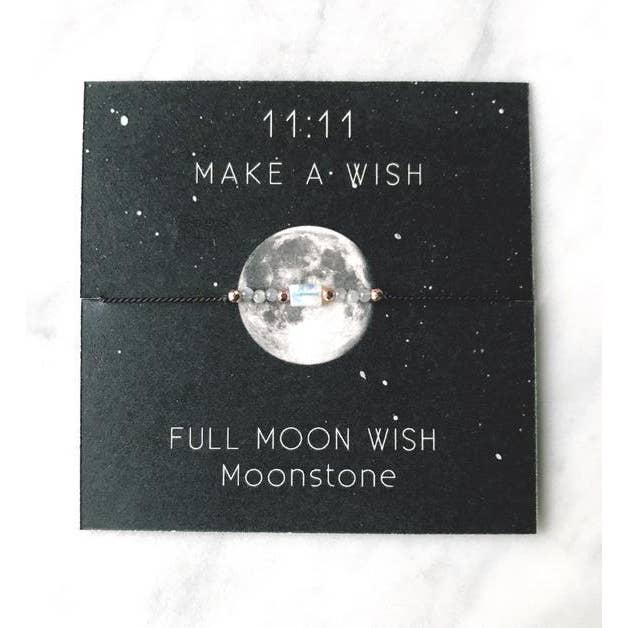 Full Moon Wish Bracelet - Femme Wares Niagara Local Small Business