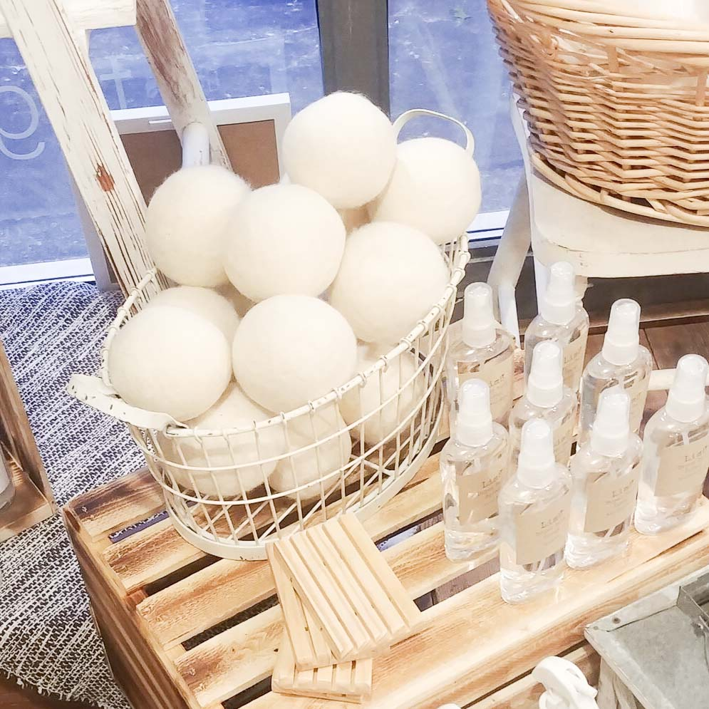100% Wool Dryer Ball - Femme Wares Niagara Local Small Business