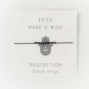 Protection Wish Bracelet - Femme Wares Niagara Local Small Business