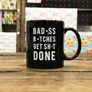 Bad Bitches Mug - Femme Wares Niagara Local Small Business
