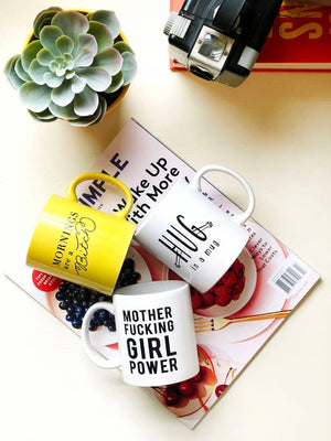 MF Girl Power Mug - Femme Wares Niagara Local Small Business