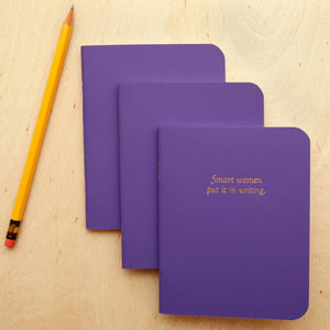 Smart women put it in writing - Notebook - Femme Wares Niagara Local Small Business