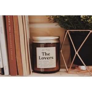 The Lovers - Tarot Cards Soy Candle - Femme Wares Niagara Local Small Business